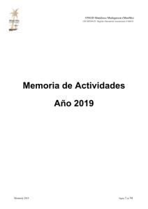 Memoria ManMa 2019